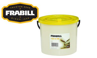 Frabill Fish-N-Fun Bait Bucket, 4.5 Quart / 4.3 Litre #4600?>