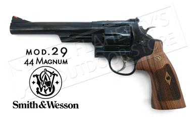 "Smith & Wesson Model 29 Revolver, .44 Magnum with 6.5"" Barrel & Wood Grips #150145?>"