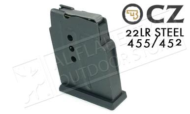 CZ 455 or 452 Magazine, .22LR 5-Round Steel #5133-1000-01ND?>