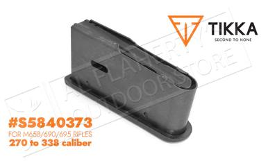 Tikka Magazine for M558-95 and 695 Rifles 270-338 3-Round #S5840373?>