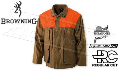 Browning Pheasants Forever Upland Jacket with Embroidered Sleeve, M-2XL #30411632?>