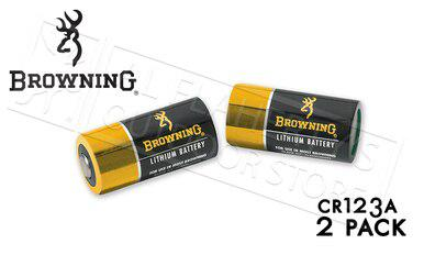 Browning CR123A Lithium Battery 2-Pack #3742000?>
