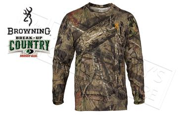 Browning Wasatch CB Long Sleeve T-Shirts in Mossy Oak Break-up Country Camo #30178228?>