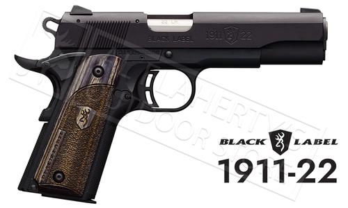 Browning Handgun Black Label 1911-22A1 22LR #051814490?>