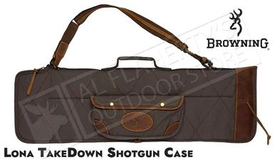 Browning Lona Takedown Over-Under Canvas and Leather Shotgun Case #1413886912?>