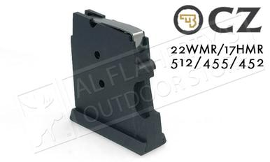 CZ 455 or 512 Magazine, .22WM or .17HMR 5-Round Polymer #5073-1000-8802ND?>
