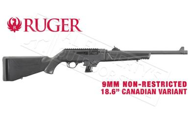 "Ruger PC Carbine Canadian Non-Restricted Variant, 9mm 18.6"" Barrel #19103?>"