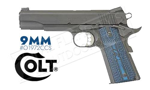 Colt 1911 Competition Government Frame Pistol, 9mm Carbon Steel Finish #o1972CCS?>