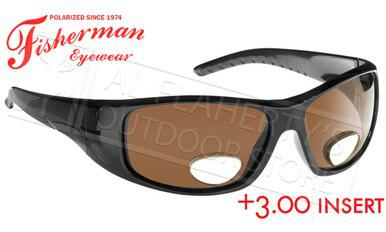 Fisherman Eyewear Polar View Bi-Focal Sunglasses +3.00 #90757N?>