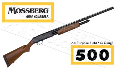 "Mossberg 500 Hunting All Purpose Field Shotgun, 20 Gauge 26"" Barrel #50136?>"