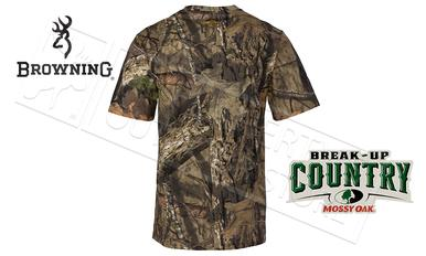 Browning Wasatch CB Short Sleeve T-Shirts in Mossy Oak Break-up Country Camo #30178128?>