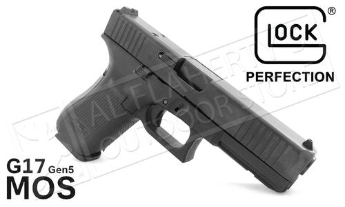 Glock 17 Gen5 MOS Handgun with Fixed Sights?>
