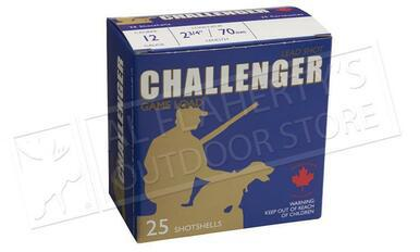 "Challenger 12 Gauge Target Slugs, 2-3/4"" 1 oz. Low Recoil, Box of 25 Shells or 100 Rounds for $89.96?>"