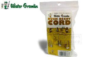 Water Gremlin Duck Decoy Cord, 100 Feet Braided Camo #DC-100?>