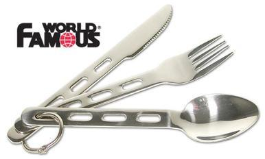 World Famous Ultralight Cutlery Set #113?>