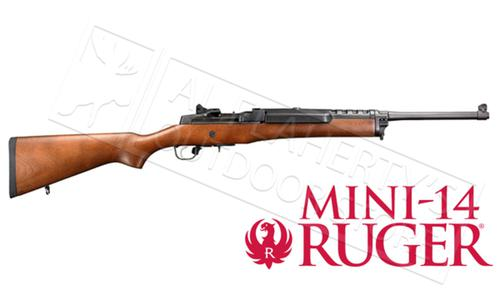 Ruger Mini-14 Ranch Rifle, Wood with Blued Finish #5801?>