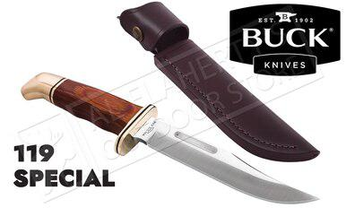 Buck Knives 119 Special with Cocobola Handle #0119BRS-B?>