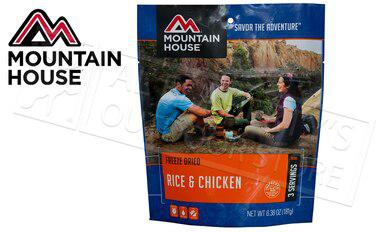 Mountain House Pouch - Rice and Chicken, 6.38 oz #53105?>