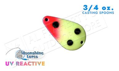 Moonshine Lures Casting Spoon 3/4 oz #54210172?>
