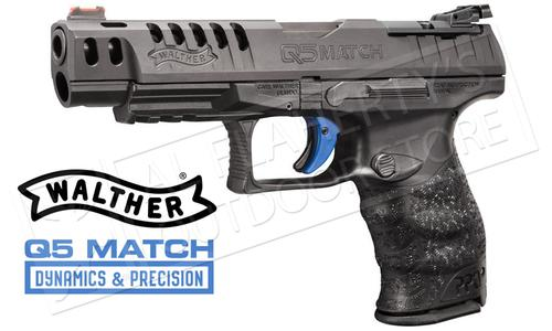 Walther PPQ Q5 Match Optic Ready 9mm Pistol #2813336?>