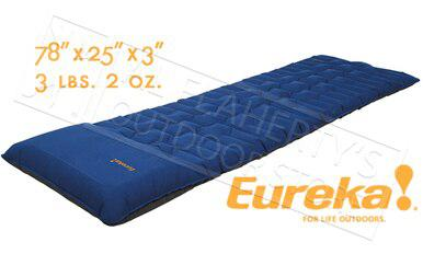 "Eureka Super Cush Air Mattress with Built in Pump - 78"" Length #2632026?>"