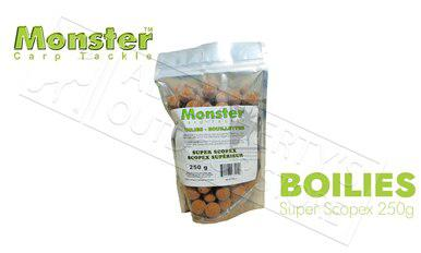 Monster Boilies - Super Scopex 16mm, 250 grams #MCB16M-S?>