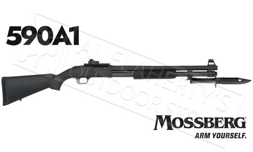 "Mossberg 590A1 SPX 9-Shot, 12 Gauge, 3"" Chamber, 20"" Barrel w/Ghost Ring Sights & Bayonette #50771?>"