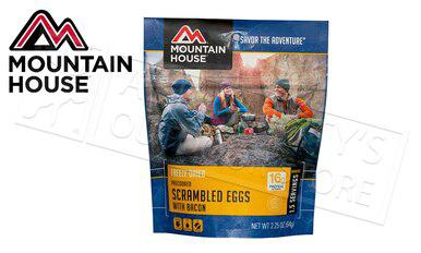 Mountain House Pouch - Scrambled Eggs with Bacon, 1.5 Servings #53447?>