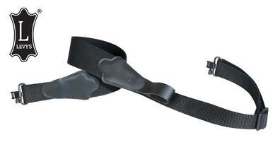 "Levy's Leathers Composite Elastic Rifle Web Sling, 31""-38"" Black #S8ET?>"