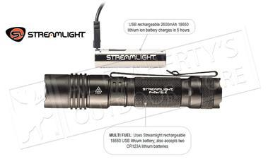 Streamlight Protac 2L-X USB with 18650 Battery #88082?>