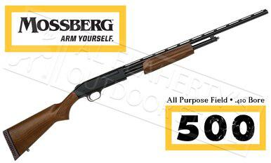 "Mossberg 500 Hunting All Purpose Field Shotgun, 410 Gauge 24"" Barrel #50104?>"
