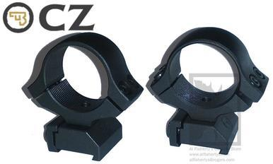 "CZ Scope Ring Mount for CZ 527, 1"" Medium Height #PFAPR30130?>"