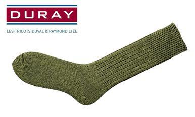 Duray Army Work Sock, Green, Size 11 #4311?>