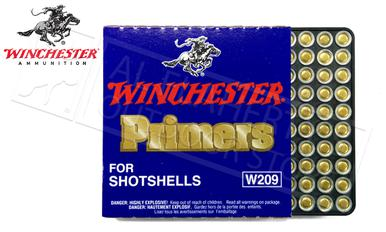 Winchester Primers - 209 Shotshell Strip of 100 #W209?>