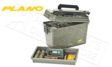 Plano Field Ammo Box - Large with Tray in Green #161200?>