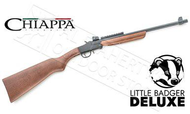 Chiappa Deluxe Wood Little Badger Folding Survival Rifle #500 - 22LR #500-172?>