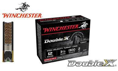 "Winchester Double X High Velocity Turkey Shells 12 Gauge 3.5"", 2 oz. #4, 5, 6 Shot, 1300 FPS, Box of 10 #STH1235x?>"