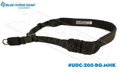 Blue Force Gear UDC Padded Bungee Single Point Sling with MASH Hook Adapter #UDC-200-BG-MHK?>