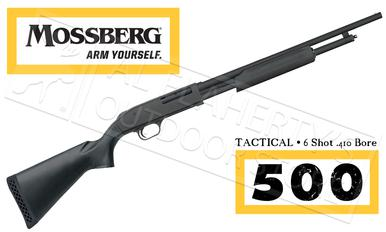 "Mossberg 500 Tactical Shotgun, 6-Shot 18.5"" Barrel .410 Gauge #50454?>"