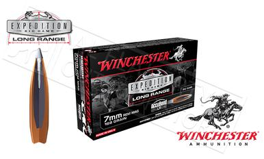 Winchester 7mm Rem Mag AccuBond Expedition LR, Polymer Tipped Boat-Tail 168 Grain Box of 20 #S7LR?>