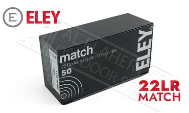 Eley 22LR Match 40 Grain Box of 50 Rounds #01100?>