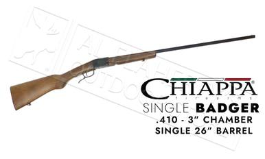 "Chiappa Single Badger Shotgun - Folding .410 Gauge 3"" 26""  Barrel #500.166?>"