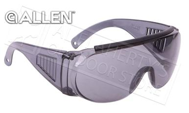 Allen Over Shooting & Safety Glasses, Mirror Smoke #2158?>