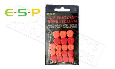 E-S-P Big Buoyant Sweetcorn - Artificial, Red & Orange 18 Kernels #ESCORN-R?>