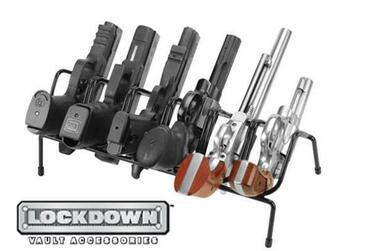 Lockdown 6 Gun Handgun Rack #222210?>