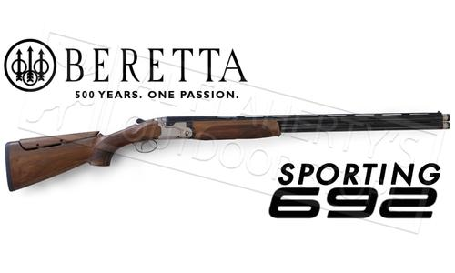 Beretta Shotgun 692 Sporting, Left Handed with B/Fast Adjustable Stock?>