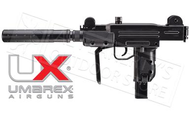 Umarex Air Gun Mini-Uzi with Fake Suppressor, .177 BB #2256103?>