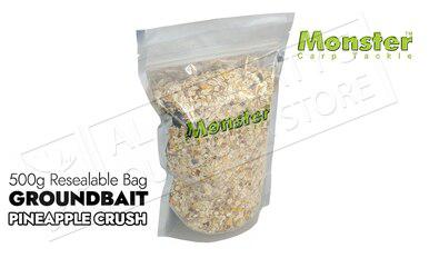 Monster Carp Groundbait - Pineapple Crush 500g Bag #MCGBPC?>
