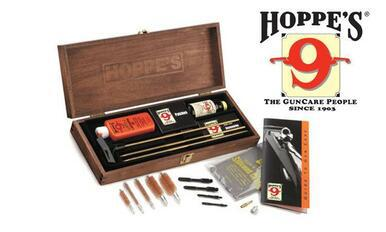 Hoppe's Deluxe Gun Cleaning Kit, 22 Caliber to 12 Gauge #BUOX?>