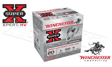 "Winchester Super-X Xpert High Velocity Waterfowl Shells 20 Gauge 3"" 7/8 oz., 1500fps Box of 25 #WEX203?>"